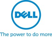 Dell Blue Vertical Tagline CMYK Logo